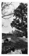 Civil War: Supply Base, 1864 Bath Towel