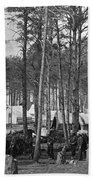 Civil War: Union Camp, 1864 Bath Towel