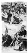 Civil War: Women, 1862 Bath Towel