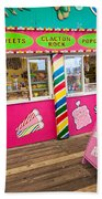 Clacton Pier Shop Bath Towel
