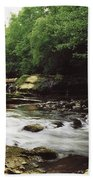 Clare River, Clare Glens, Co Tipperary Bath Towel