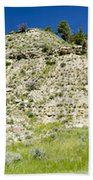 Cliff Side Panorama Bath Towel