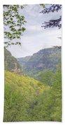 Cloudland Canyon Bath Towel