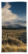Clouds Over East Humboldts Hand Towel