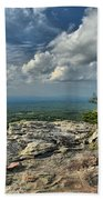 Clouds Over The Cliff Bath Towel