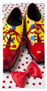 Clown Shoes  Bath Towel