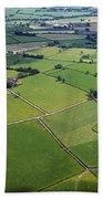 Co Fermanagh, Ireland Aerial View Of Bath Towel