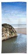 Coastal Scene Bath Towel