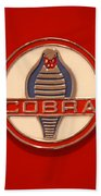 Cobra Emblem Bath Towel