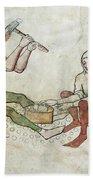 coinage - Gothic mural Bath Towel