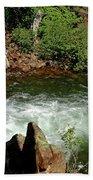 Cold Creek Waters Glen Alpine Creek Bath Towel