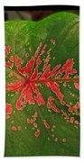 Colius Leaf Bath Towel