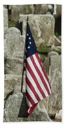 Colonial Cemetery Hand Towel