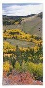 Colorado Autumn Aspens Colors Bath Towel