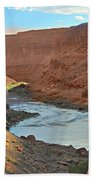 Colorado River Canyon 1 Bath Towel