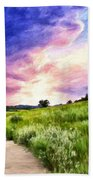 Colorado Sunset Bath Towel