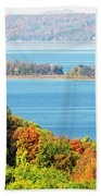 Colored Peninsula  Bath Towel