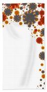 Colorful Blades Hand Towel