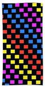 Colorful Squares Bath Towel
