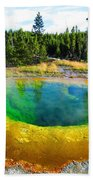 Colorful Yellowstone Bath Towel
