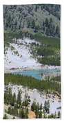 Colorful Yellowstone Valley Hand Towel