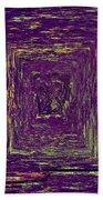 Coloristic Abstracts From Varikallio At Hossa Bath Towel