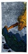 Comet Apocalypse, 1857 Bath Towel