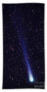 Comet Hyakutake Bath Towel