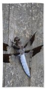 Common White Tail Dragonfly Bath Towel