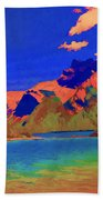Complementary Mountains Bath Towel