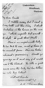 Conan Doyle: Letter Bath Towel