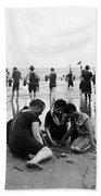 Coney Island Beach Goers - C 1906 Bath Towel