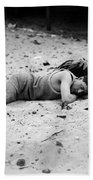 Coney Island: Sleeping Bath Towel