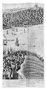Constantinople, 1713 Bath Towel