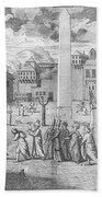 Constantinople, 1727 Bath Towel