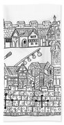 Constantinople, Procession At City Hand Towel