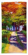 Cool Country Land Plein Air Hand Towel