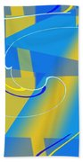Coolbluelines Hand Towel