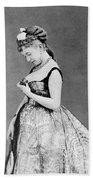 Cora Pearl (c1835-1886) Bath Towel