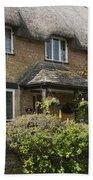 Cotswold Thatched Cottage Bath Towel