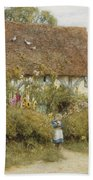 Cottage At West Horsley Surrey Hand Towel