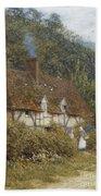 Cottage Near Witley Surrey Bath Towel