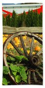 Country Fence Bath Towel