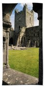 County Kilkenny, Ireland Jerpoint Abbey Bath Towel