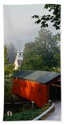 Covered Bridge Bath Towel