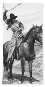Cowgirl, C1920 Bath Towel