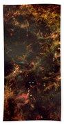 Crab Nebula Bath Towel