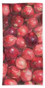 Cranberries Hand Towel