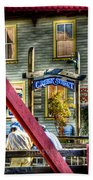 Creek Street - Ketchikan Alaska Bath Towel