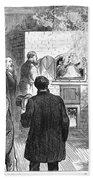 Cremation, 1876 Bath Towel